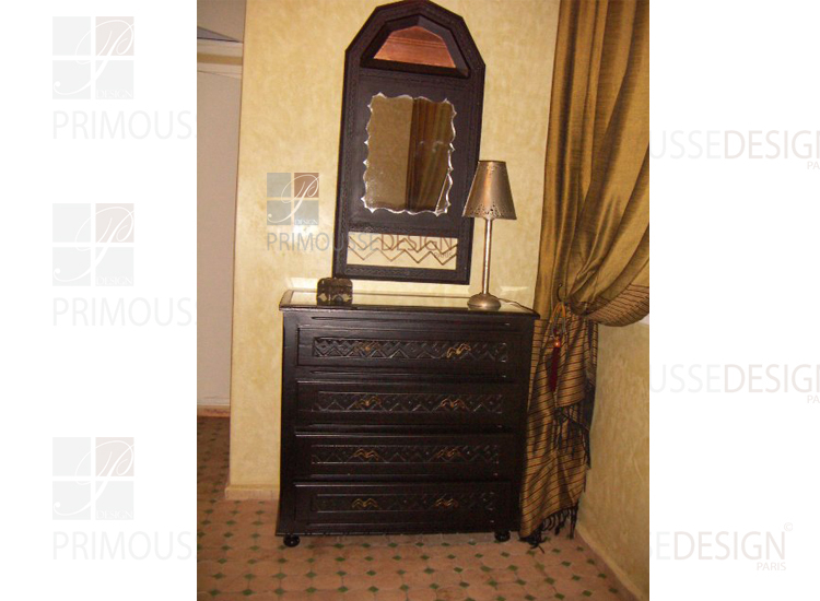 console et miroir console tiroir avec miroir. Black Bedroom Furniture Sets. Home Design Ideas