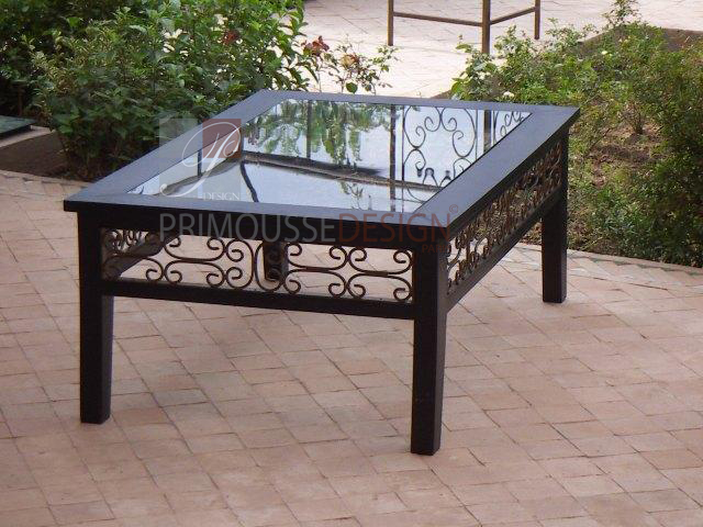 Table Basse De Salon Marocaine