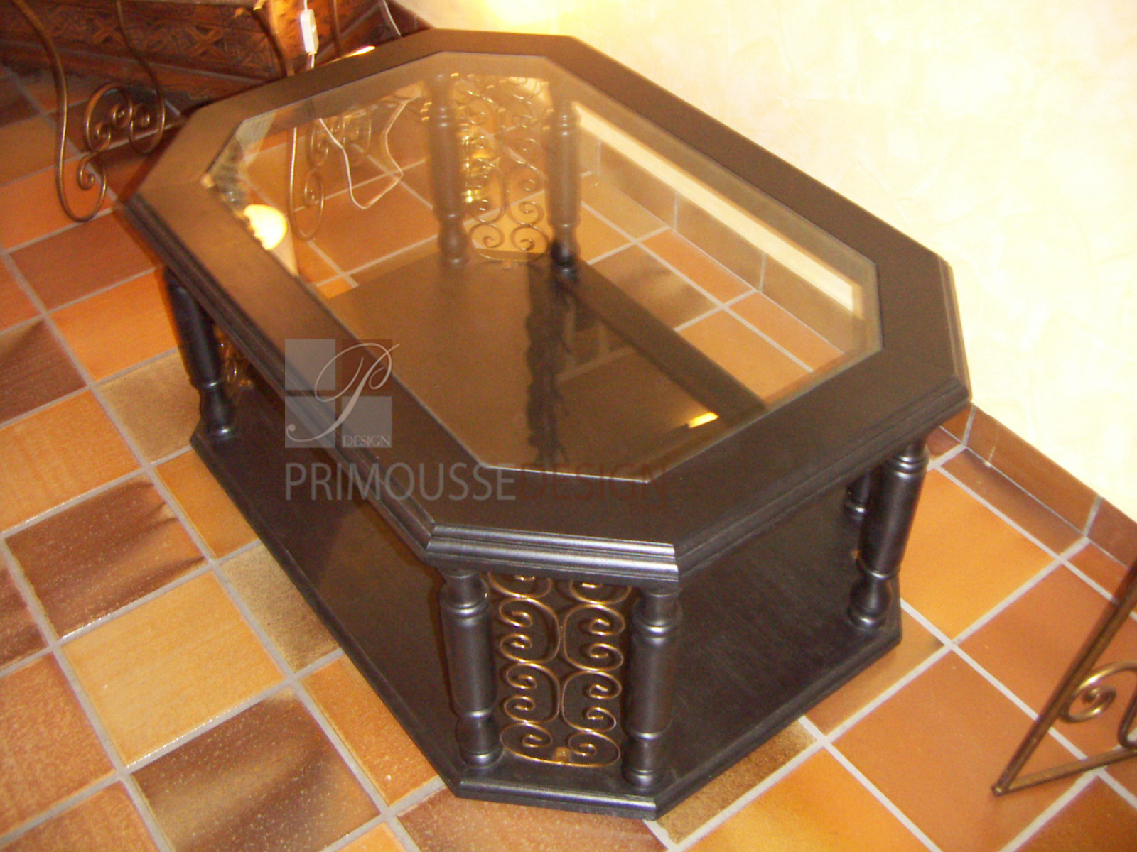 table basse marine. Black Bedroom Furniture Sets. Home Design Ideas