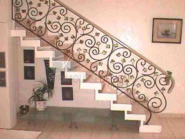 1000 images about escaliers on pinterest google moma for Rampe d escalier exterieur en fer forge