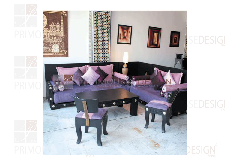 salon marocain. Black Bedroom Furniture Sets. Home Design Ideas